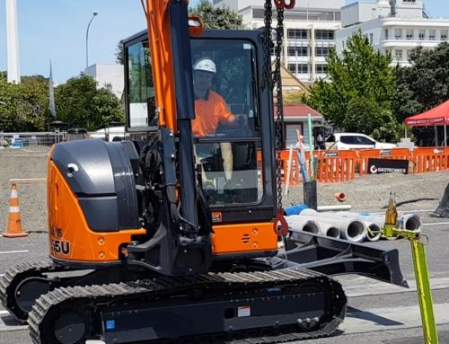 Excavator operation all in a day's work for Kiwi freestyle motocross legend