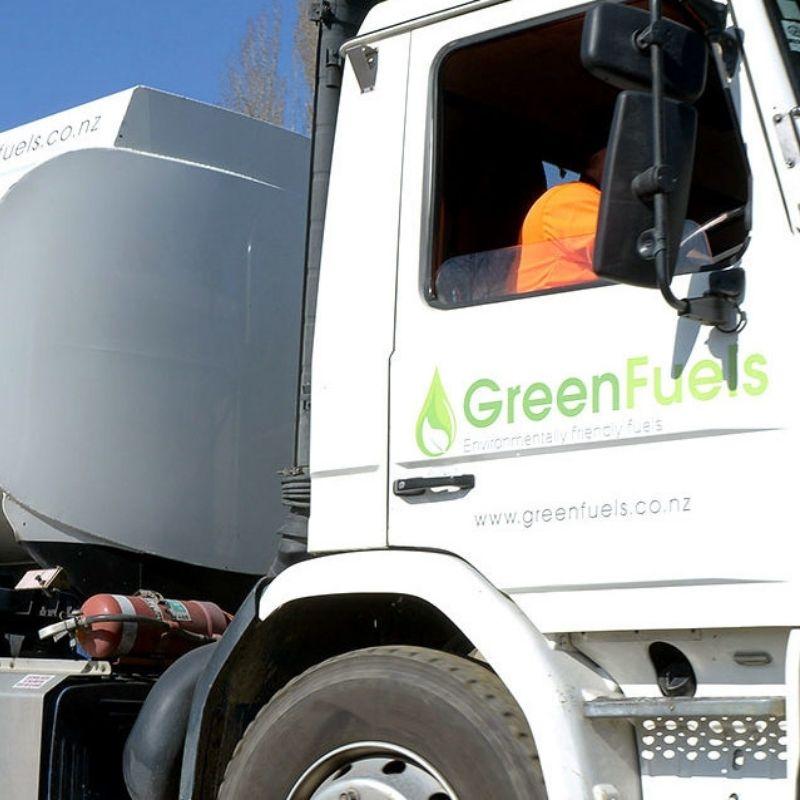 GreenFuels truck